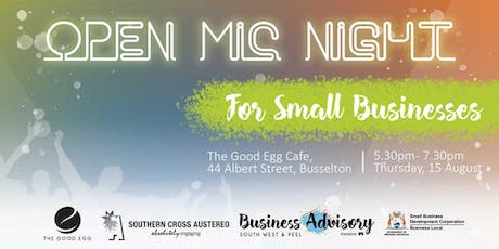Open Mic Night - For Small Businesses | Busselton tickets