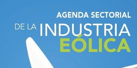 Presentación Agenda Sectorial de la Industria Eólica entradas