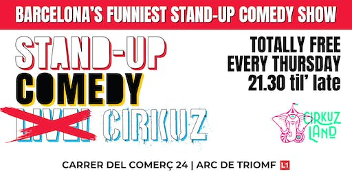 Stand-Up Comedy Cirkuz @Cirkuzland