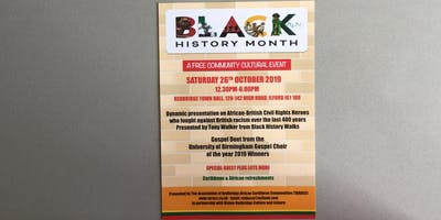 Black History Month Community Cultural Event