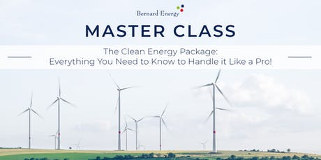 Clean Energy Package: Everything You Need to Know to Handle it Like a Pro! tickets