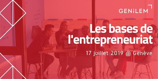 Les bases de l'entrepreneuriat