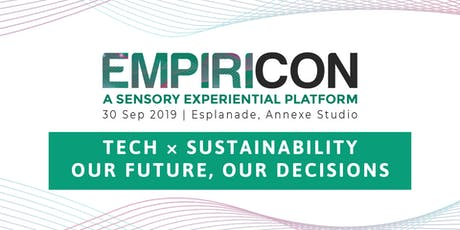 EMPIRICON 2019: Tech and Sustainability tickets