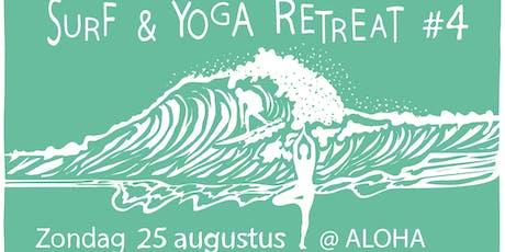 Surf & Yoga retreat #4 tickets