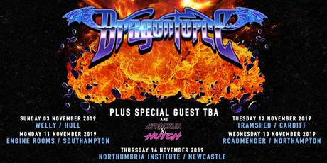 Dragonforce (Northumbria Institute, Newcastle)   tickets