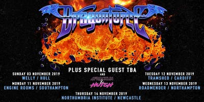 Dragonforce (Roadmender, Northampton)