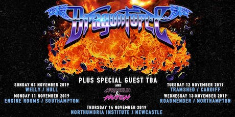 Dragonforce (Roadmender, Northampton) tickets