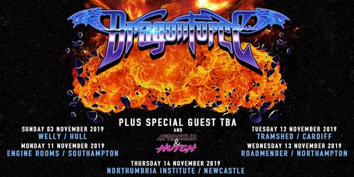 Dragonforce (The Welly, Hull)