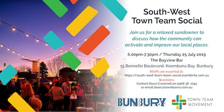 South West Town Team Social tickets