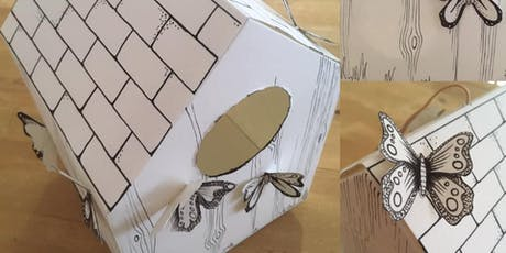 Mini Makers - Kids Craft workshop – Card butterfly houses tickets