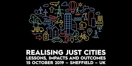 Realising Just Cities Open Conference tickets