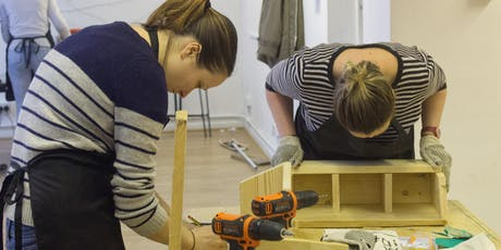 Making Planters with Girls with Drills tickets