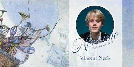 Klassik im Mozartsaal - Vincent Neeb Tickets