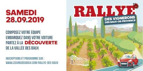 Rallye des Vignerons des Baux-de-Provence #3 billets