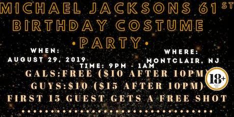 Michael Jackson's 61st Birthday Costume Party tickets