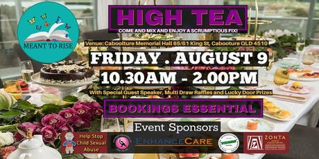 Meant To Rise High Tea tickets