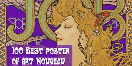"""Presentazione della monografia """"I 100 poster Art Nouveau più belli al mondo biglietti"""