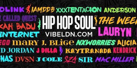 Hip Hop SOUL x18  tickets
