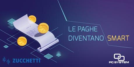 Paghe Smart Zucchetti 23 Luglio 2019 biglietti