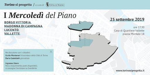 I Mercoledì del Piano - Borgo Vittoria | Madonna di Campagna | Lucento Vallette
