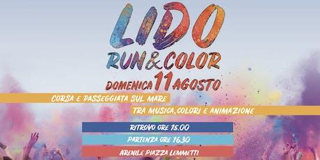 Lido Run&Color biglietti