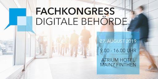 Fachkongress Digitale Behörde 2019