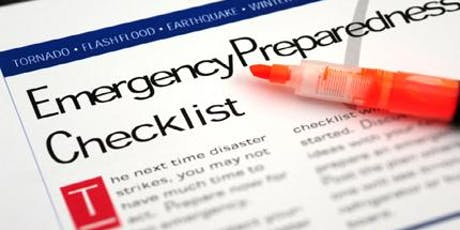 Emergency Preparedness Training tickets