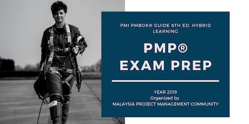 2019 PMBOK 6th Edition Hybrid PMP Exam Prep Class (Include Exam) - 4 Days