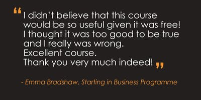 Starting in Business Programme – Derby