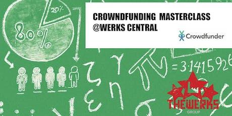 Crowdfunding Masterclass @ Werks Central tickets