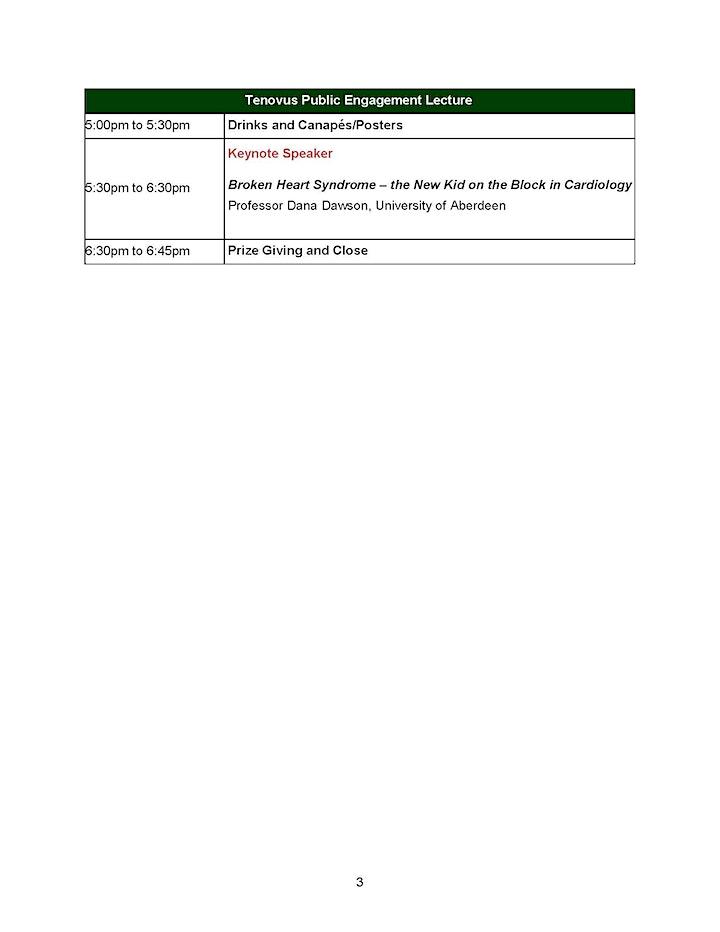 Tenovus Grampian Research Symposium image
