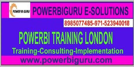 powerbi training in London tickets