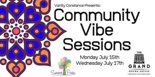 Community Vibe Sessions