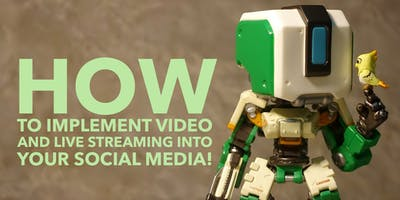 How to implement video and live streaming into your social media!