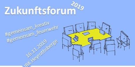 Zukunftsforum Tickets