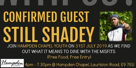 Will You Dine With Us? - Hampden Chapel Summer Youth Event tickets