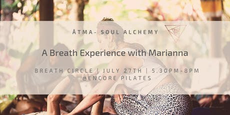A Breath Experience With Marianna tickets