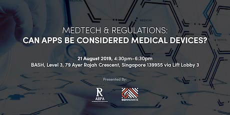 MedTech & Regulations: Can Apps be considered Medical Devices? tickets