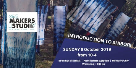 Introduction to Shibori Dyeing tickets