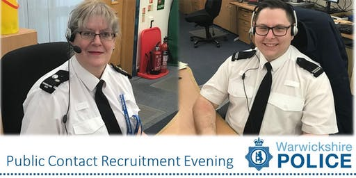 SOLD OUT Warwickshire Police Public Contact Recruitment Evening