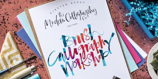 Modern Calligraphy - Brush Evening Workshop