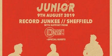 Junior | Sheffield tickets