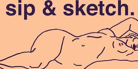 Sip & Sketch  tickets