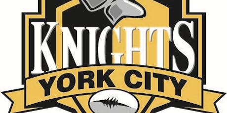 York City Knights V Bradford Bulls tickets