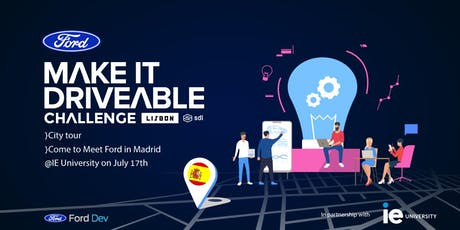 Ford in Madrid to Meet with Startups entradas