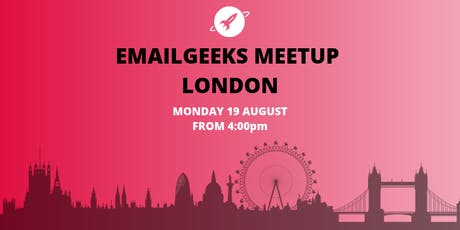 Email Geeks Meetup tickets