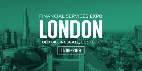 Financial Services Expo London tickets