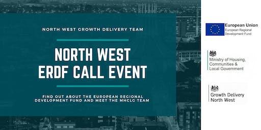 North West ERDF  Call Event