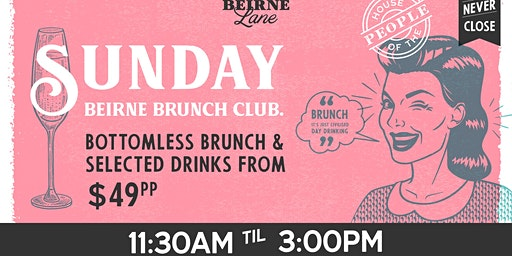 Christmas at Beirne Brunch Club 22nd December