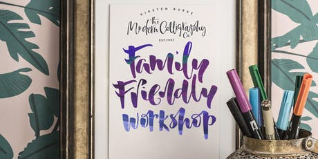 Modern Calligraphy - Morning Family Friendly Workshop tickets